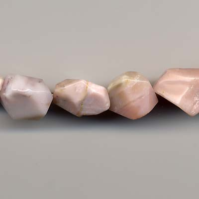 """15mm A 16/"""" string of nuggets shell beads 8mm"""