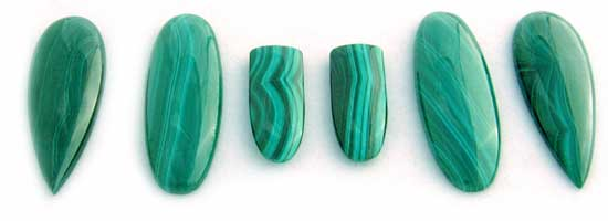 Assorted Malachite Selections