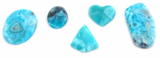 Assorted Larimar Selections
