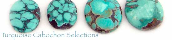 Turquoise Cabochon Selections