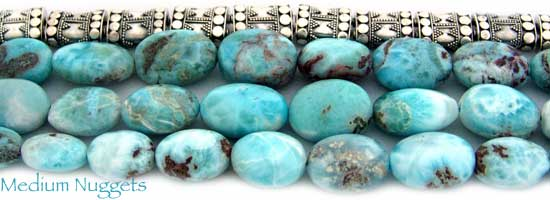 Medium Larimar Nuggets