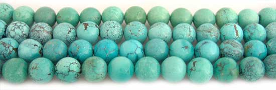 Small Assorted Colors Round Turquoise Beads