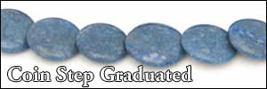 Graduated Step Coin Beads